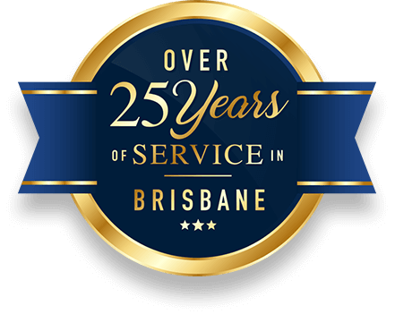 25 years of service in Brisbane