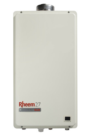 Rheem Continuous Flow 27L Indoor (862627) no gas label