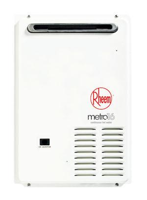 Rheem metro 16 (876E16 & 874E16)